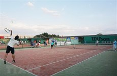 Tennis tourney connects Vietnamese community in Russia