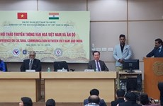 Vietnam, India seek ways to promote cultural communication