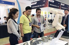 Industrial equipment displayed at first-ever fairs in HCM City