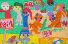 Hanoi's student wins Asian drawing award