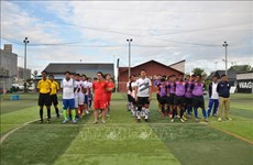 Football tourney marks Cambodia's victory over genocidal regime