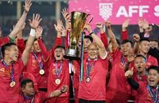 Vietnam win AFF Suzuki Cup trophy