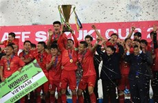 Vietnam's AFF Suzuki Cup triumph makes international headlines