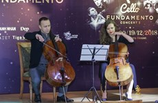 Int'l artists to gather in Hanoi for Cello Fundamento Concert