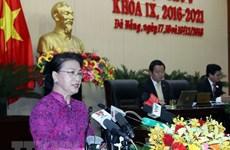 NA Chairwoman asks Da Nang to become smart city