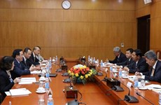 Myanmar's USDP delegation visits Vietnam