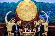 Deputy PM, FM Pham Binh Minh pays official visit to Laos