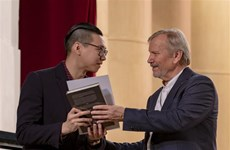 Vietnamese student wins at Russian music festival
