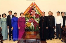 Top legislator extends Xmas greetings to Catholics in HCM City
