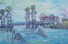 Vietnamese paintings exhibited in Netherlands