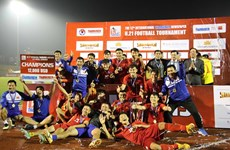 Vietnam win int'l U21 football tournament