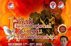 Indonesia: Bali Int'l Kungfu Championship underway
