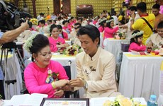 HCM City mass wedding realises dreams of couples with disabilities