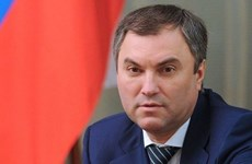 Russia's State Duma Chairman starts official visit to Vietnam