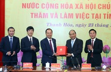 Gov't leader urges rapid industrialisation in Thanh Hoa province