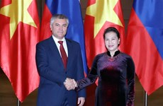 State Duma Chairman wraps up official visit to Vietnam