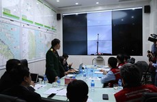 Joint operation of natural disaster early warning system tested