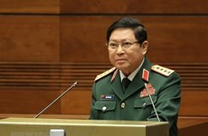 Vietnamese defence chief pays official visit to Cambodia