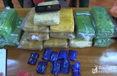 Border guard forces arrest Lao drug smuggler in Nghe An
