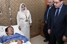 Egyptian PM visits injured Vietnamese tourists in roadside bomb