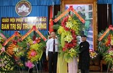 Ceremony marks 99th birthday of Hoa Hao Buddhism's founder