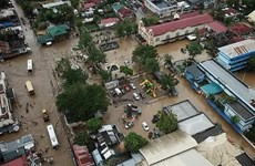 Leaders send condolences to Philippines over storm losses
