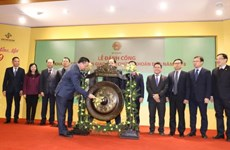 Vietnam's stock market opens first trading session of 2019