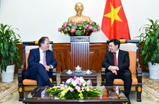 Deputy PM receives UK Minister of State