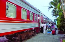 Passengers on Hanoi-Nanning int'l train sharply increase