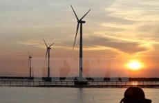 Quang Tri attracts strategic investors to wind power projects
