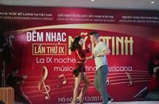 10th Latin American Music Gala held in Hanoi