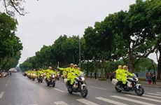 Traffic safety year launched in Hanoi