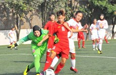 Vietnam gets ready for AFC Women's U16 Championship