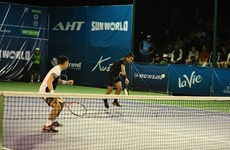 Duo Nam, Khanh lose in first round of Vietnam Open