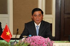 Party inspection commission delegation visits Cambodia