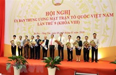 Ninth conference of VFF Central Committee wraps up