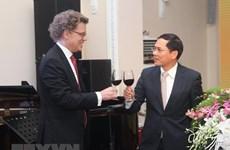 Ceremony marks 50 years of Vietnam – Sweden diplomatic ties