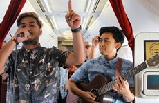 Garuda Indonesia brings live music to the sky