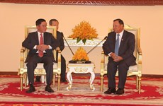 Party inspection commission officials visit Cambodia
