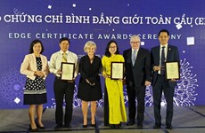 Maritime Bank receives EDGE certification for gender parity commitment