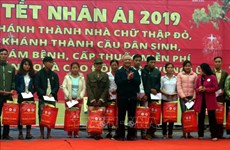 Activities held to bring warm Tet to policy beneficiaries, the poor