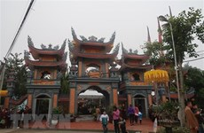 Major pagoda in Hai Duong province gets upgrade