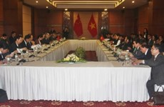 Vietnam, China hold gov't-level negotiation on territory, border