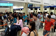Tan Son Nhat Airport expects over 4 million passengers during Tet