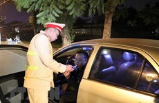 HCM City police launches breath testing for drivers