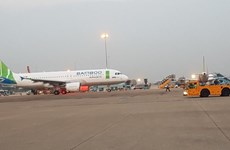 First Bamboo Airways flight takes off