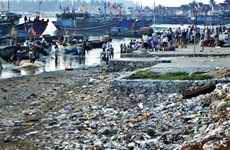 Marine plastic pollution requires international cooperation