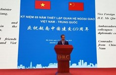 Vietnam-China diplomatic relations marked in Beijing