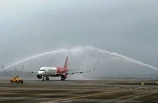 Vietjet Air inaugurates HCM City – Van Don route