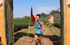 Vietnam Trail Marathon takes place in Son La